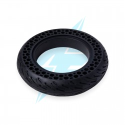 Perforated solid tyre 10...