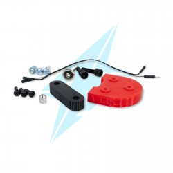 10 inch wheel clamps (red,...