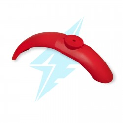Kit of mudguards (red)